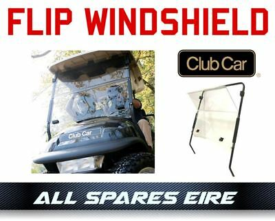 Club Car Precedent Golf Cart Buggy Folding Impact Resistant Windshield