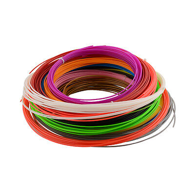 Colorfully 6 pcs ABS 3D Print PLA Filament 1.75MM Print Sample Wanhao