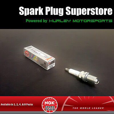 Laser Iridium Spark Plugs by NGK - Stock #5068 - IFR8H-11 - Solid Tip
