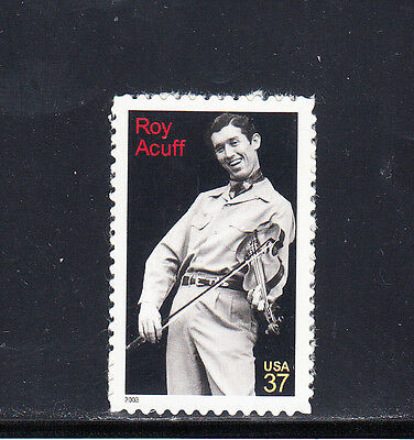 US Scott #3812, Roy Acuff Stamp, MNH