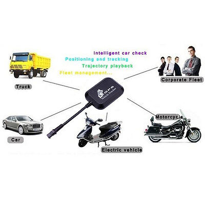 Vehicle Car GPRS GSM GPS Tracker Locator 4 Bands Real Time Tracking Anti-theft