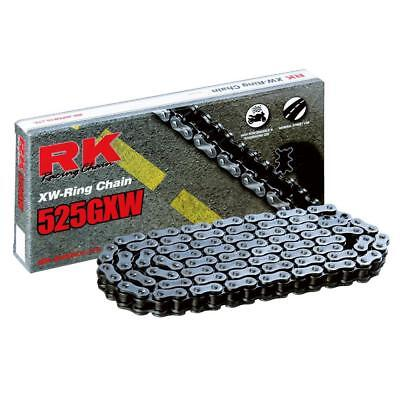 RK Chains NEW 525GXW 112 Link Premium Motorbike Motorcycle XW-Ring Chain