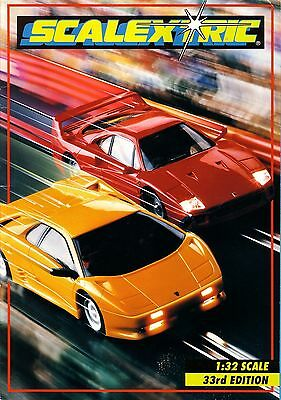 Scalextric 1992 Catalogue - Edition 33