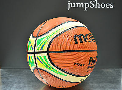 Molten BGM7X-YG RIO Olympic Games logo basketball ball NEW