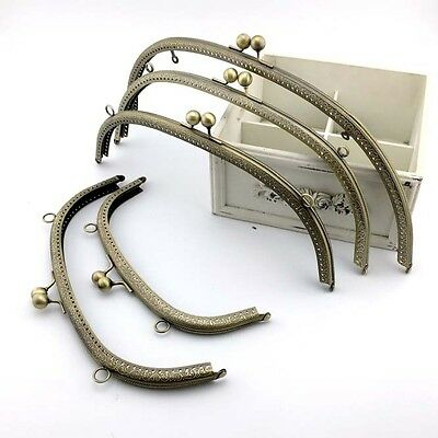 Bronze Metal Frame Kiss Clasp For Big Handle Bag 20~36CM(7.87inch~14.17inch)