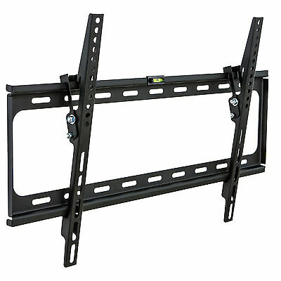 "Support TV mural inclinable pour écran 32"" à 63"" 81-160 cm ultra plat LCD LED"