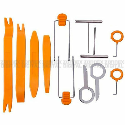 12x Professional Pry Tool Kit Set Interior Trim Panel Removal Tool for SKODA