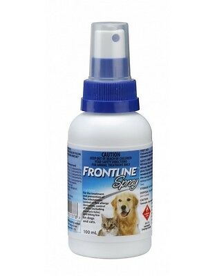Frontline Spray Anti Chewing Ticks Fleas Lice for Dogs and Cats 100 ml.