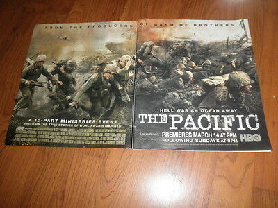 HBO'S THE PACIFIC PROMO AD-Two Pager-2010