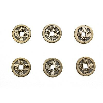 6 of Chinese I ching Money Lucky Coins