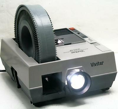 Vivitar 3000Af Slide Projector - Auto Focus - Excellent Condition Free Shipping