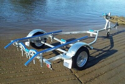 trailer boat 4.6 Hot Dipped Galvanised skids OR Rollers winch keel rollers J/W