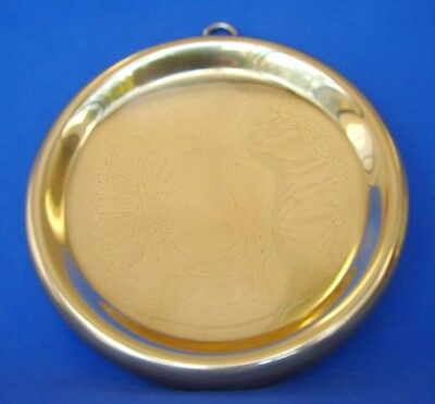 "5"" Feng Shui Thick Brass Concave Convex Bagua Mirror"