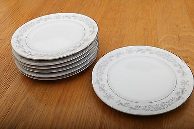 "7 Imperial China By W. Dalton 334 Windsor Bread Plates 6 1/2"" Made In Japan"