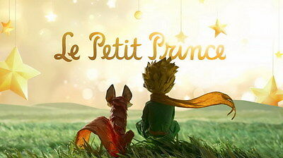 "003 The Little Prince - Explore World 2015 Cartoon 25""x14"" Poster"