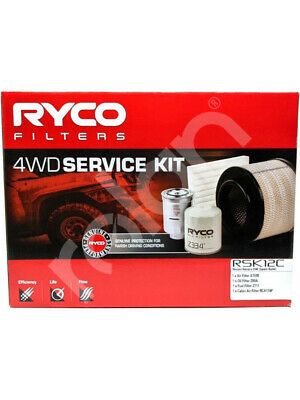 Ryco Heavy Duty Service Kit [FOR: NISSAN NAVARA D40] (RSK12C)