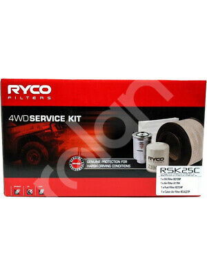Ryco Heavy Duty Service Kit [FOR: FORD RANGER PX] (RSK25C)