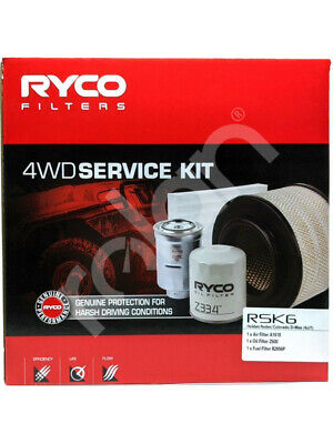 Ryco Heavy Duty Service Kit [FOR: HOLDEN COLORADO RC] (RSK6)