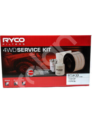Ryco Heavy Duty Service Kit [FOR: MITSUBISHI PAJERO NW] (RSK8)