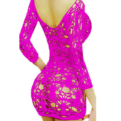 Hot Women's Lace Lingerie Dress Nightwear G-string Underwear Babydoll Sleepwear
