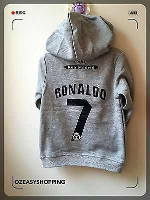 Real Madrid#7 Ronaldo Baby Hoodies