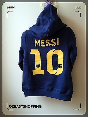 Barcelona#10 Messi Baby Hoodies