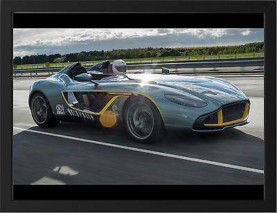 Caresto V8 Speedster CARS3018 Art Print Poster A4 A3 A2 A1