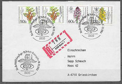 pa446 BRD/ Orchideen MiNr 1225/28 RECO-FDC