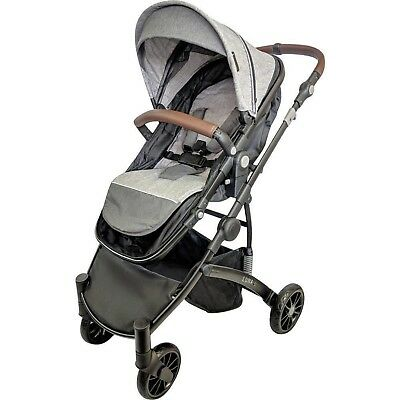 New Safety 1St Visto 4 Wheel Stroller Blue