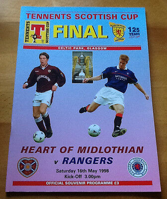 Hearts V Rangers 16/5/1998 Scottish Cup Final