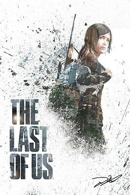 """063 The Last of Us - Zombie Survival Horror Action TV Game 14""""x21"""" Poster"""