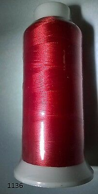 Rayon Embroidery Machine Thread big large size # 40 many colors 5000 Y 120/2