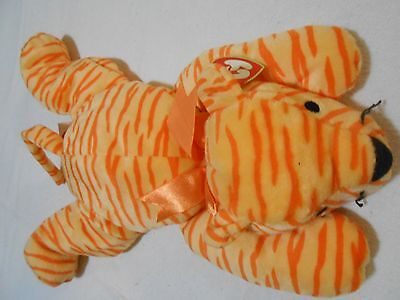 ❤️❤️  Ty Pillow Pals Pet Purr Orange Cat Wht❤️❤️ Fast Shipping