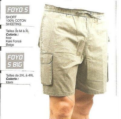 Short Homme Oaks Valley 100 % Coton 5 Poches