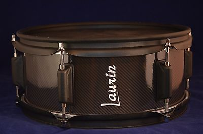 "Laurin Snare (12"" electronic drum mesh pad) Roland/Alesis/Yamaha - Carbon look"