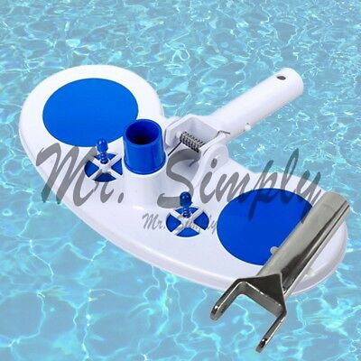 Vacuum Head With Air Relief Valves Spring On Handle Pool Spa Extra Metal Handle