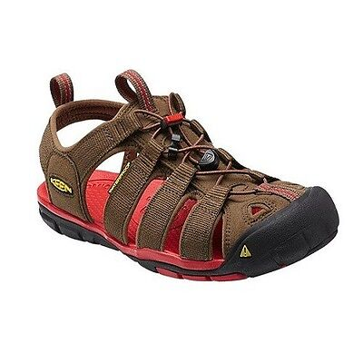 KEEN CLEARWATER CNX Dark Earth/Racing Red