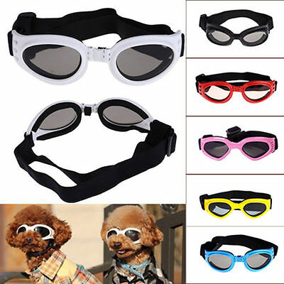 Small Pet Dog Goggles UV Sunglasses Sun Glasses Glasses Eye Wear Protection UP