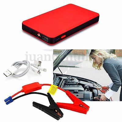 12V 20000mAh Red Jump Starter Car Emergency Charger Battery Booster Power Bank