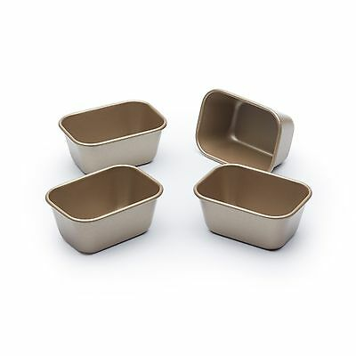 Paul Hollywood Bakeware Set of 4 Non Stick Mini Loaf Tins
