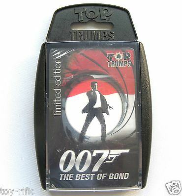 Top Trumps Specials - 007 The Best Of Bond - Limited Edition - New & Sealed!