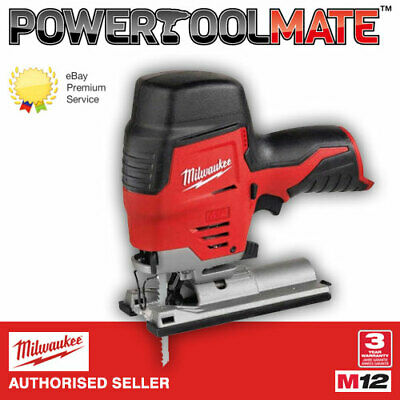 Milwaukee M12JS-0 12v Cordless Sub Compact Jigsaw - Naked - Body Only