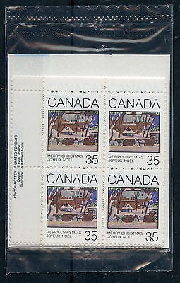Weeda Canada 872i VF mint NH sealed pack, M/S of PBs, with variety CV $25.50