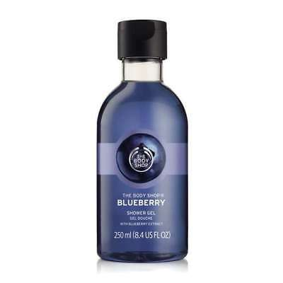 Body Shop Sale ◈ BLUEBERRY ◈ Shower Gel ◈ Soap-free Lather-rich ◈ 250ml