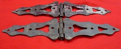 DECORATIVE  HINGES  1 PAIR Heavy Steel for Gate, Barn, Shed, Storage Doors, Barn