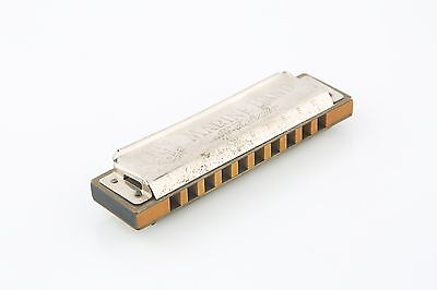 Vintage M Hohner Marine Band Harmonica (Key of C) Made in Germany Model A440