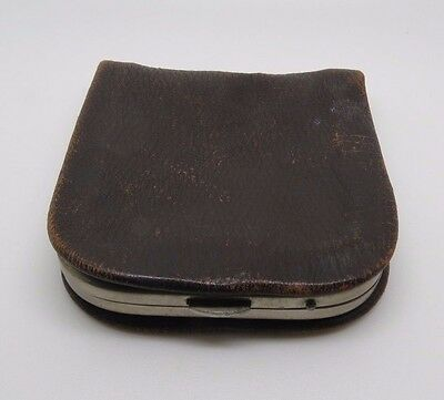 Vintage Amity Brown Leather  Coin  Wallet