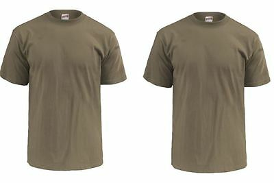 2 QTY AR 670-1 MOISTURE WICKING OCP Scorpion Multicam Coyote Brown SHIRT LARGE