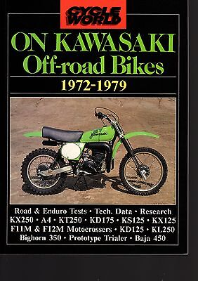 Cycle World On Kawasaki Off-Road Bikes 1972-1979 by Brooklands Books