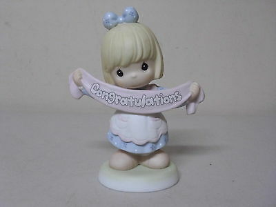 Precious Moments Figurine Its A Banner Day Congratulations 2000